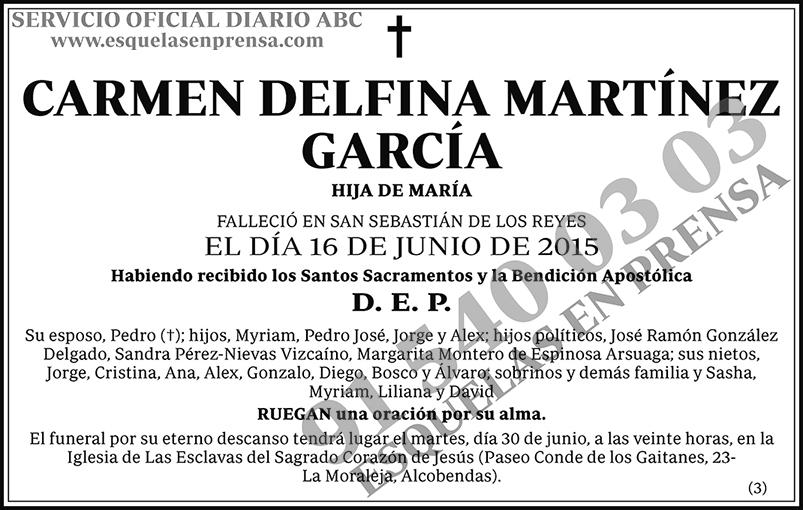 Carmen Delfina Martínez